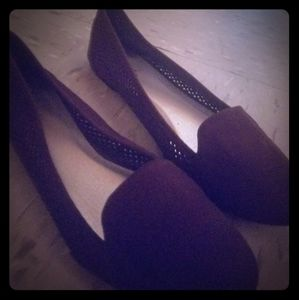 Shoes - Brown slip on flats